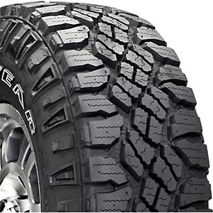 Goodyear 33 Inch Tires for Jeep Wrangler | 33/1250R15 | 108Q