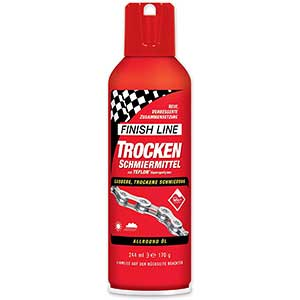 Finish Line Dry Lubricant Spray | Chain Lube | Huge Resistance