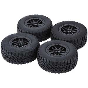 GoolRC Tires For Traxxas Slash 2wd | Crush-Proof | 4 Pcs