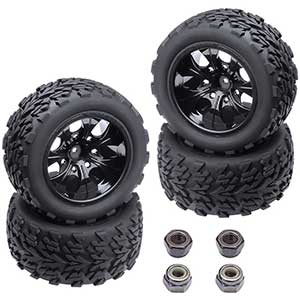 Hobbypark Tires For Traxxas Slash 2wd | Wear-Resistant | Durable