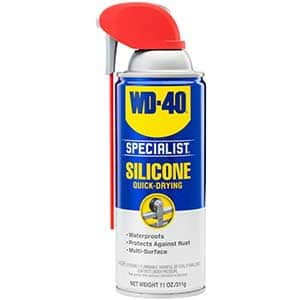 WD-40 Silicon Dry Lubricant Spray | Water Resistant | 11oz