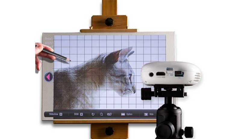 Digital Projector for Artists
