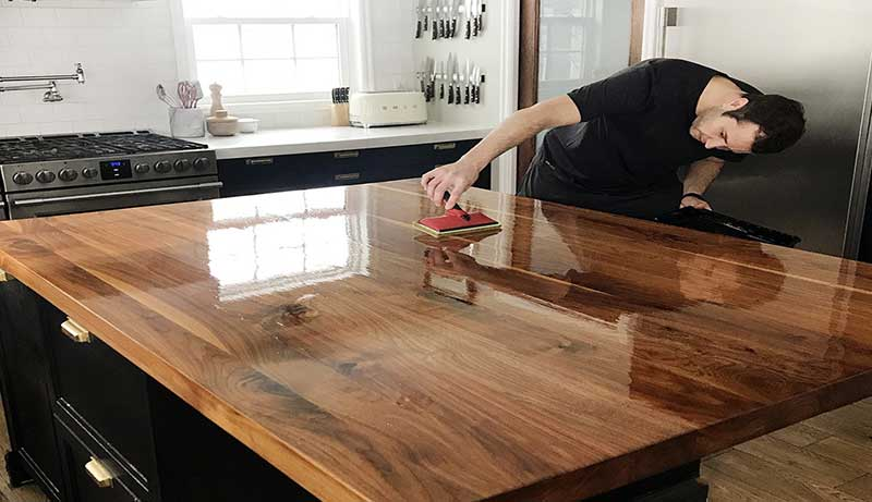 Finish for Butcher Block Countertops