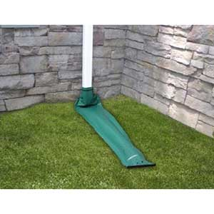 Frost King Downspout Extension | Automated Roll-Up | Green