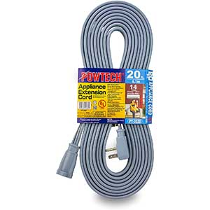 POWTECH Extension Cord for Air Conditioner | 1875 Watts