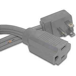 Qualihome Extension Cord for Air Conditioner | Wire | 9 FT