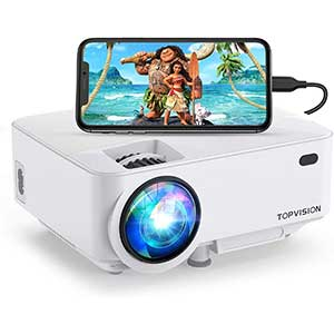 Top Vision Digital Projector for Artists │ Outdoor Friendly