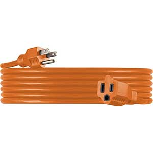 UltraPro Extension Cord for Air Conditioner | Orange | Heavy Duty